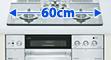 60cmビルトインコンロ