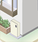 屋外壁掛給湯器施工事例