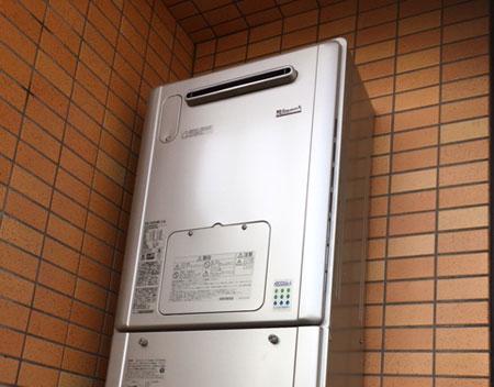 RVD-E2405AW2-3(A) リンナイ 給湯暖房機 取替交換工事 大阪府吹田市
